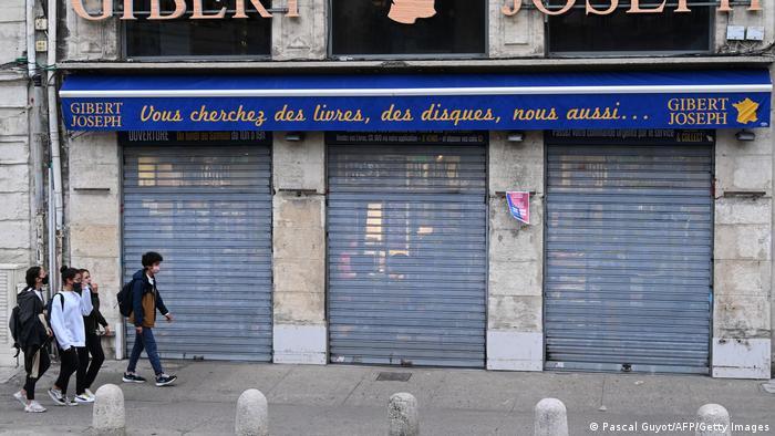 Comércio fecha as portas na França e em vários outros países europeus com agravamento da pandemia
