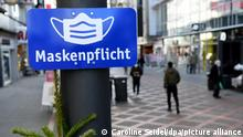 Deutschland Coronavirus Shutdown Gelsenkirchen