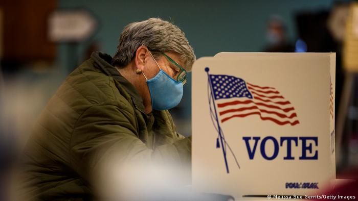 US Wahl 2020 Wahllokal in Fayetteville