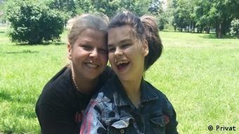 Ина Маринова с дъщеря си