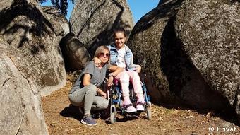 Гери Маврова с дъщеря си