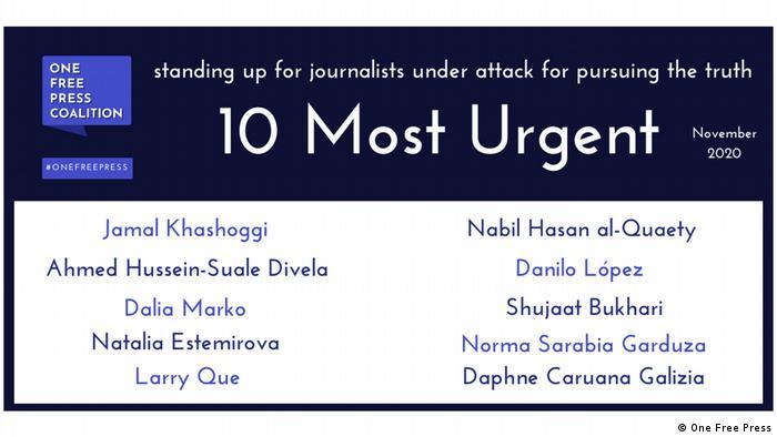 One Free Press | Pressefreiheit