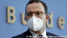 Deutschland Coronavirus Pressekonferenz Jens Spahn