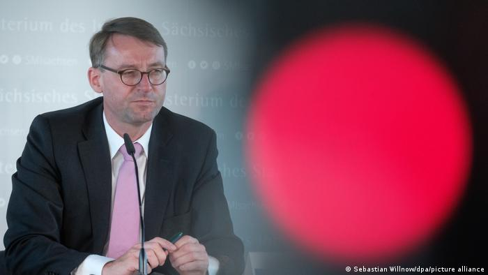 Deutschland Leipzig | Verfassungsschutzbericht | Roland Wöller