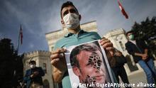 Türkei Istanbul | Proteste gegen Frankreich
