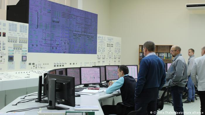 Belarus Atomkraftwerk Ostrowez (Claudia Thaler/dpa/picture alliance)