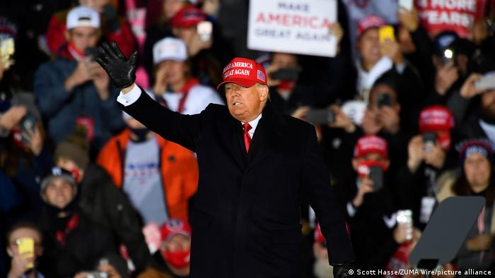 USA Grand Rapids | US-Wahl 2020 | Trump Rally (Scott Hasse/ZUMA Wire/picture alliance)
