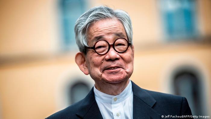Kenzaburo Oe (Jeff Pachoud/AFP/Getty Images)
