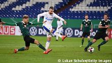 Deutschland Schweinfurt | DFB Pokal | Tor FC Schalke 04