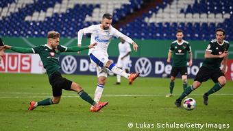Deutschland Schweinfurt   DFB Pokal   Tor FC Schalke 04