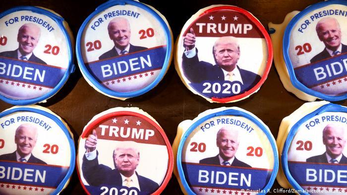 US-Wahl 2020 | Kekse Trump & Biden (Douglas R. Clifford/Zuma/picture alliance)