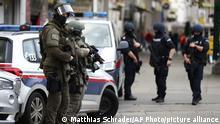 Österreich Wien nach dem Terroranschlag