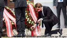 Österreich Wien nach dem Terroranschlag | Bundeskanzler Sebastian Kur