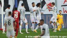 Fußball CL | RB Salzburg v FC Bayern München | Group A - UEFA Champions League Torjubel 1:2