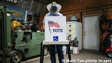 US Wahl 2020 | Wahllokal in Iowa