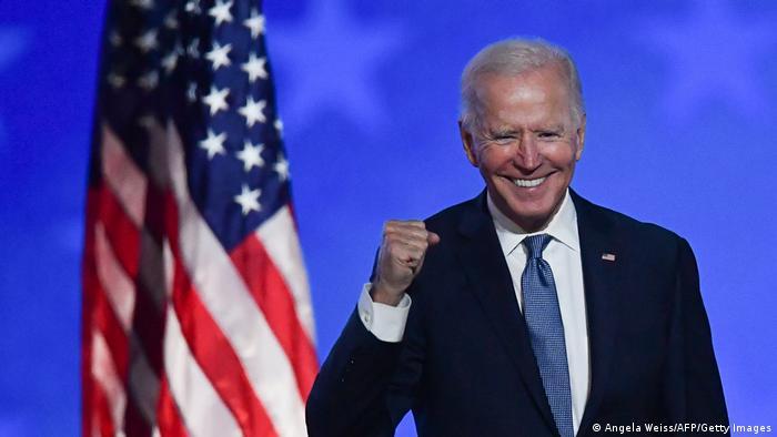 جو بایدن، پیروز انتخابات ریاست جمهوری ۲۰۲۰ آمریکا
