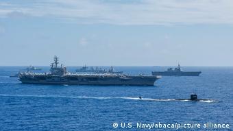 Militärmanöver Malabar 2018 Indien Australien USA Japan