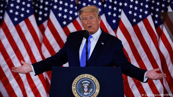 Дональд Трамп сам оголосив себе переможцем виборів президента США