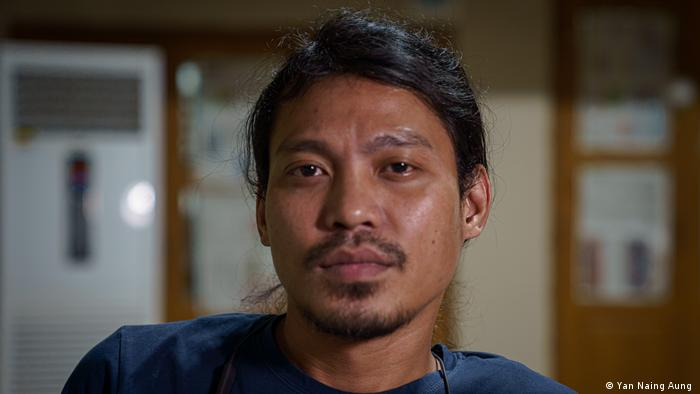 Nay Toon, a musician from an ethnic minority community in Myanmar