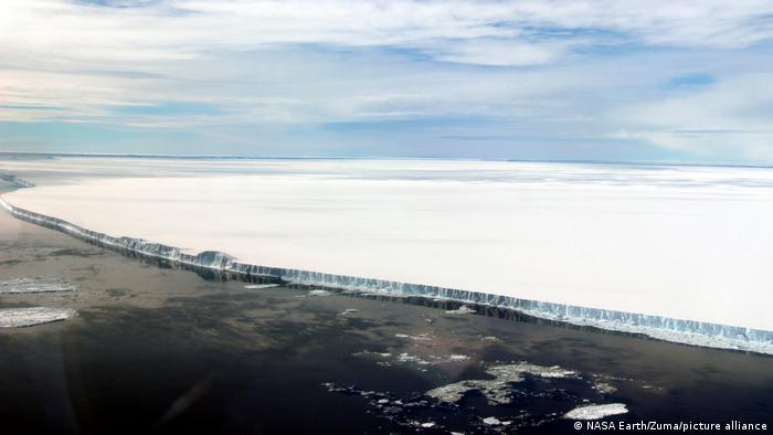 A vast iceberg