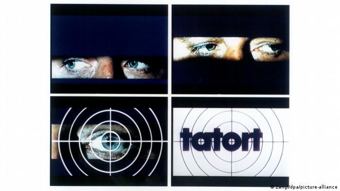 Logo of TV series 'Tatort'