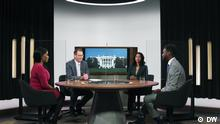 DW Sondersendung US-Wahl englisch |Totale