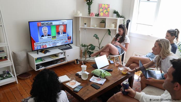 Bildergalerie US Wahl 2020 |Interesse weitweit |Sydney, Australien (Loren Elliott/REUTERS)