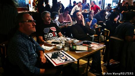 Bildergalerie US Wahl 2020 |Interesse weitweit |Taipeh, Taiwan (Ann Wang/REUTERS)