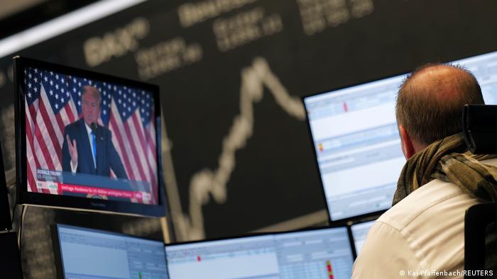 US Wahl 2020 Deutschland Börse in Frankfurt