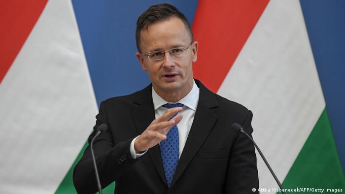 Міністр закордонних справ Угорщини Петер Сіярто (архівне фото)