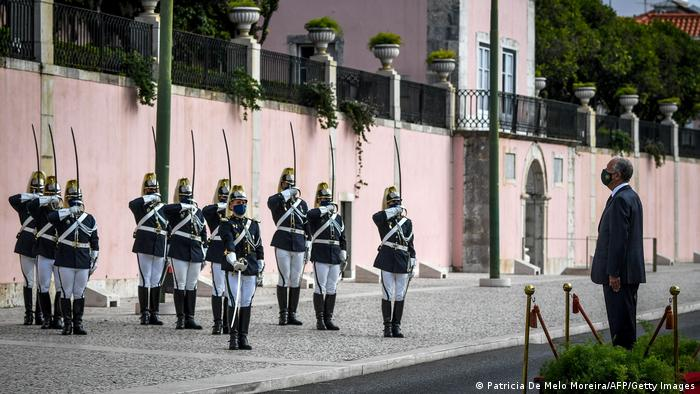 Portugal Lissabon | Coronavirus | Präsident Marcelo Rebelo (Patricia De Melo Moreira/AFP/Getty Images)