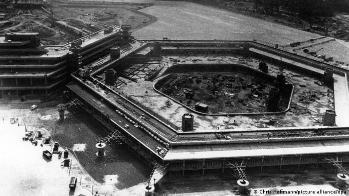 Deutschland Flughafen Tegel 1972