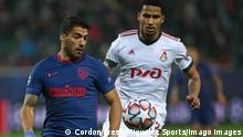 Fußball UEFA CL Lokomotive Moskau 1-1 Atletico Madrid