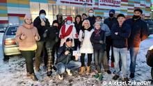 Russland Krasnoyarsk | Coronavirus | Freiwillige Helfer