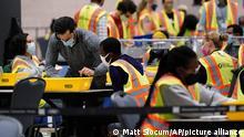 US Wahl 2020 | Briefwahl | Philadelphia Pennsylvania Convention Center