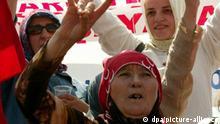 Türkei Demo gegen Irakkrieg in Istanbul