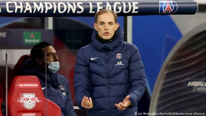 RB Leipzig - Paris Saint-Germain | Trainer Thomas Tuchel von PSG
