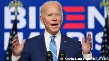 US Wahl 2020 | Joe Biden Rede (Kevin Lamarque/Reuters)