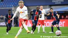 Fussball | Champions League | RB Leipzig vs. Paris St Germain