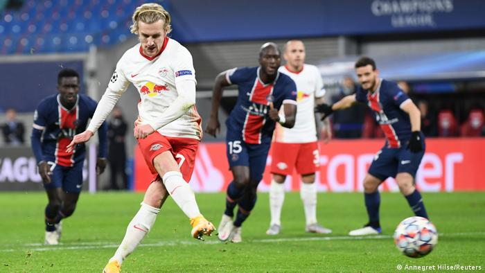 Champions League Rb Leipzig Show Character To Comeback Against Psg Sports German Football And Major International Sports News Dw 04 11 2020