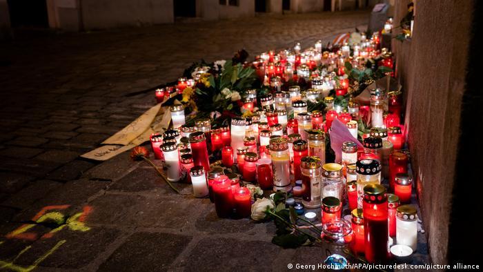 Zamach terrorystyczny w Wiedniu. Jedno z sześciu miejsc, w których doszło do ataku