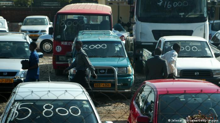 Gekauft werden in afrikanischen Ländern vor allem Gebrauchtwagen aus den Industrieländern