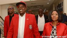 Botswana Gaborone | Mokgweetsi Masisi L und Ehefrau Neo Masisi