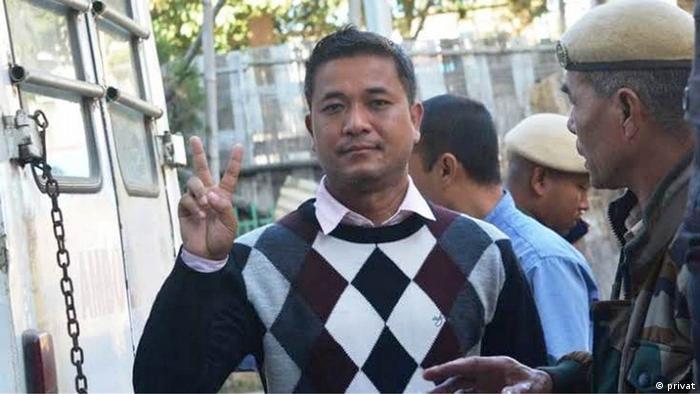 Indien Pressefreiheit Journalist Kishore Chandra Wangkhem
