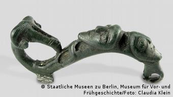 Ένα από τα εκθέματα του Μουσείου Προϊστορίας Βερολίνου που μεταφέρθηκαν στο Ερμιτάζ