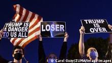 US Wahl 2020 Spannungen und Proteste