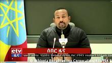 Äthiopien Abiy Ahme TV