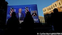 US Wahl 2020 |TV-Berichterstattung in Washington