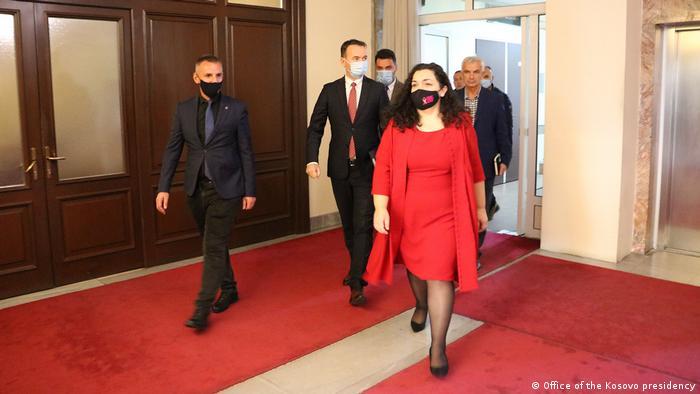 Kosovo Präsident Vjosa Osmani
