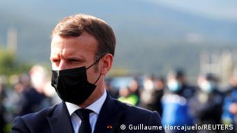 Frankreich Spanien Macron Grenze